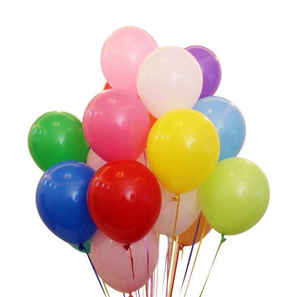 100 pcs 12 pouces 2.8g Latex Ballon De Mariage Décoration Bébé Fête D'anniversaire Saint Valentin Décor Balloon Globos