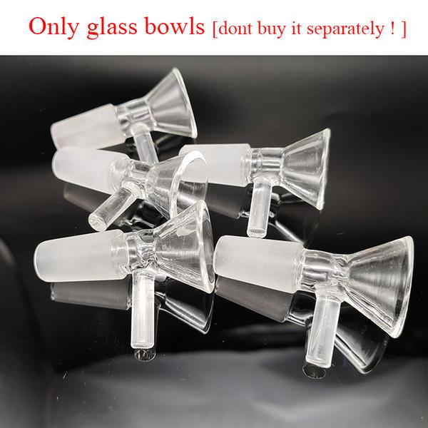 sólo cuencos de cristal
