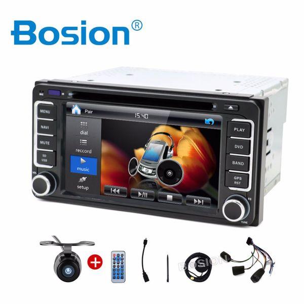 2 DIN Автомобильный DVD GPS-плеер для Toyota Hilux Camry Corolla Prado RAV4 Радио Стерео в тире
