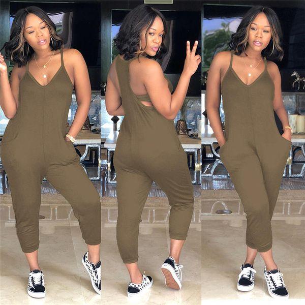 Summer Jupes Skinny Womens Combinaisons Sexy Coloré Mi Body Combinaison Casual Ins Chaud Style Femme Vêtements