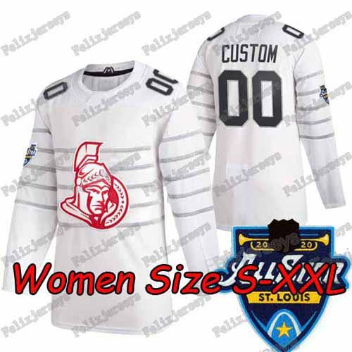 2020 All Star Blanc Femmes: Taille S-XXL