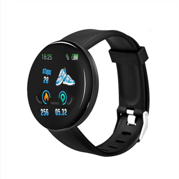 D18 Smart Watch Black