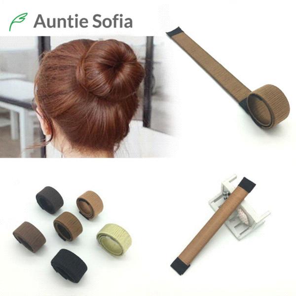 Großhandel 8 Farben Diy Einfach Brötchenmacher Haare Flechter Elastische Haarband Donuts Chignon Magique Magie Styling Haar Werkzeuge Von Xiaolei004