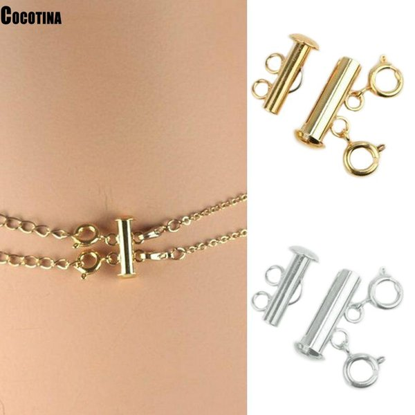 Super New 2019 Multi Strand Necklace Detangler Untangling Layered Necklace Clasp Spacer Women Girl Jewelry Findings & Components Cheap Jewelry Findings & Components Super New 2019 Multi Strand Necklace.We offer the best wholesale price, quality guarantee, professional e-business service and fast shipping . You will be satisfied with the shopping experience in our store. Look for long term businss with you.