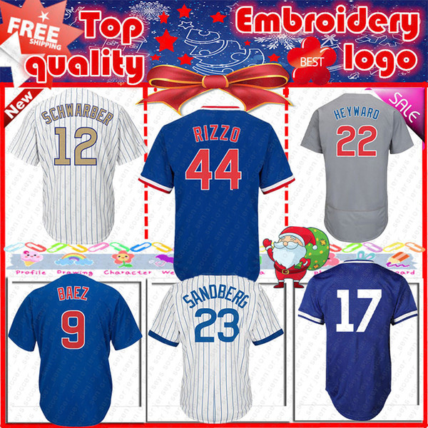 watch e335d 90429 2019 Chicago Cubs 9 Javier Baez Jersey 44 Anthony Rizzo 17 Kris Bryant Mens  Cool Base Jerseys Top Quality From Soccer_seniorjerseys, $32.24 | ...