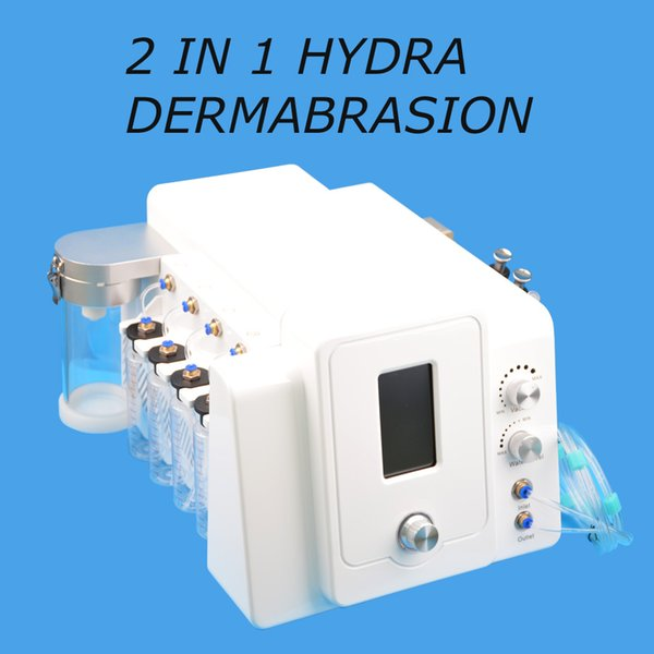 Portátil salão de uso de spa hydra dermoabrasão hidro facial micro microdermoabrasão facial remoção de rugas de limpeza profunda cuidados com a pele anti