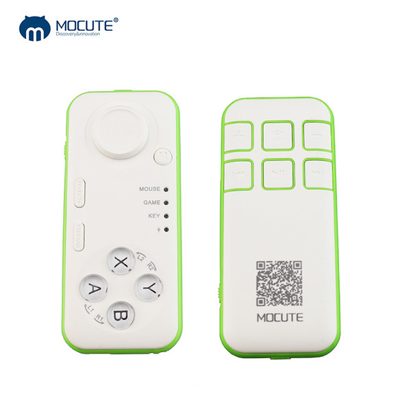 MOCUTE Bluetooth Gamepad Android Wireless Mini Game Pad Selfie Remote Controller Shutter Joystick For PC Smart Phone Ebook TV VR