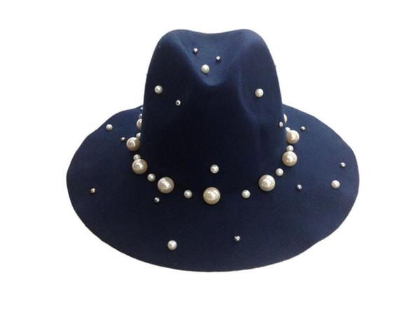 Donanma fötr şapkalar