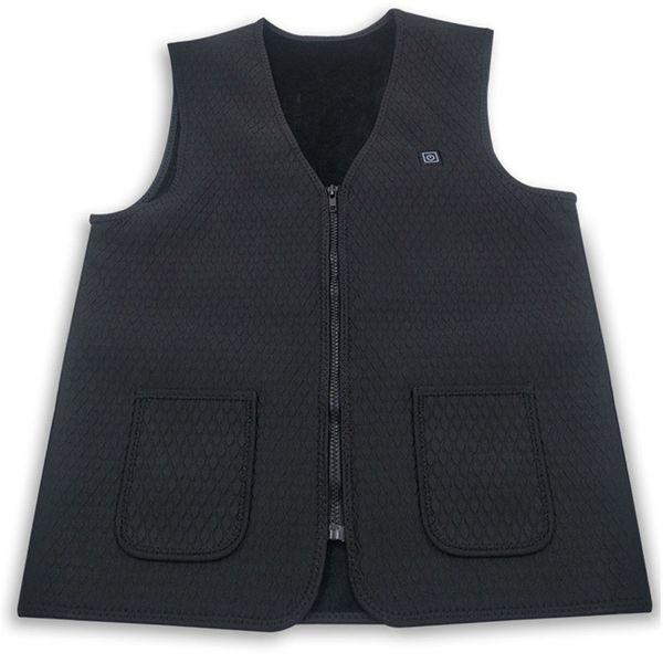 Electric Heated Vest Washable Size Adjustable USB Charging Heated Clothing p40