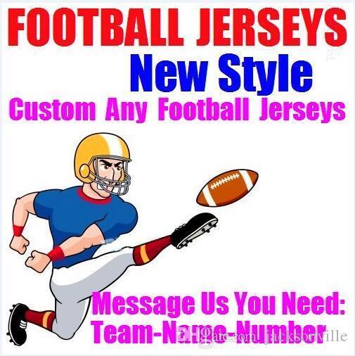 Personnalisé maillots de football américain Personnalisé Minnesota Dallas collège t-shirts