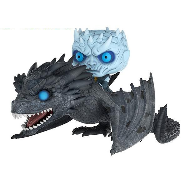 Night's King and Drogon 58#