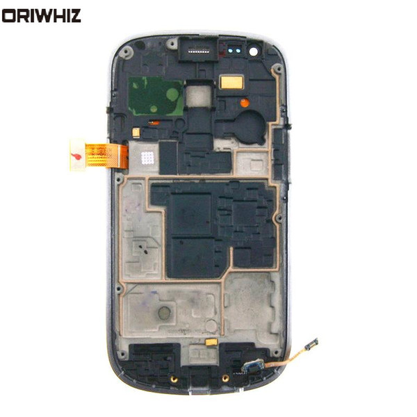 ORIWHIZ New LCD Display For Samsung Galaxy S3 mini i8190 LCD Touch Screen with Digitizer Frame with Free Repairing Tools