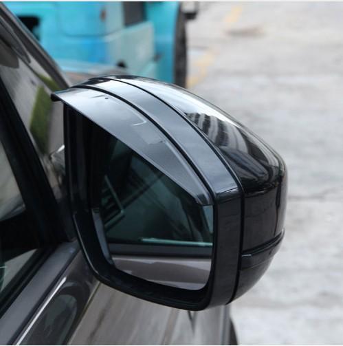 Seitenspiegel 3D Regen Augenbrauenverkleidung Für Land Rover Discovery Sport Für Range Rover Evoque Velar 2014-17 Auto Zubehör