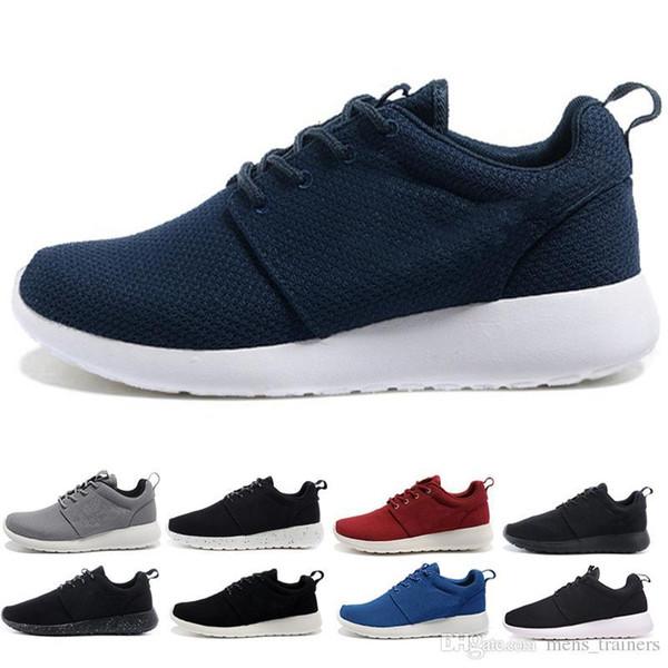 Black azul Producción blanco calzado con talla para ocio y hombre mujer y de London H5BBqg