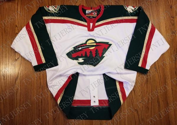 Cheap custom Minnesota Wild Vintage Pro Player Center Ice Jersey Stitched Retro Hockey Jersey Customize any name number XS-5XL