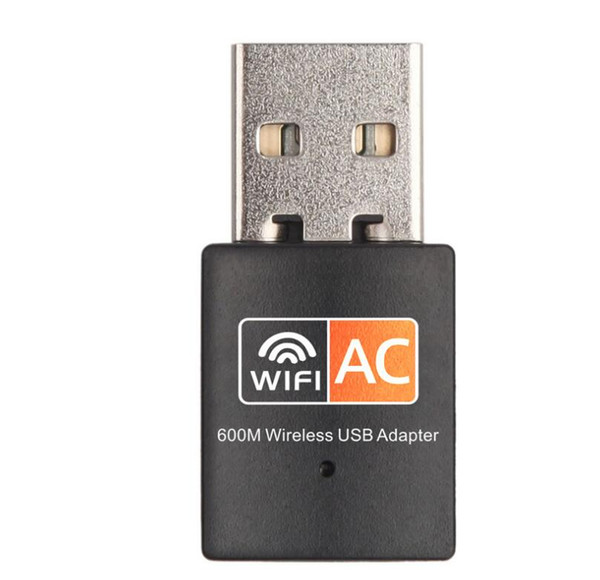 Neue 600 Mbps USB WiFi Adapter Wireless Ethernet Netzwerkkarte AC 600M Dual Band 2.4G / 5.G USB Wifi Dongle Wifi Empfänger 802.11ac