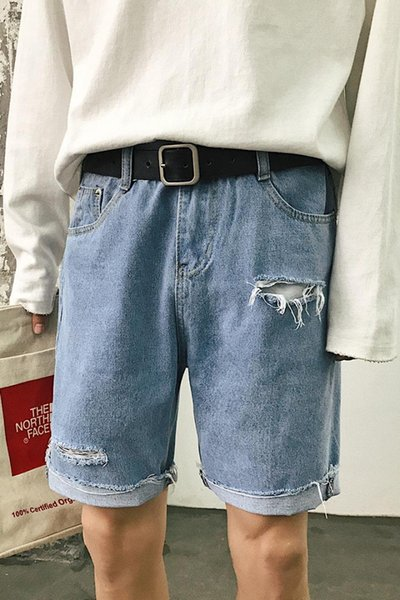 Pantaloncini larghi con pantaloni larghi da uomo, pantaloni corti da uomo di Hallen, 3009