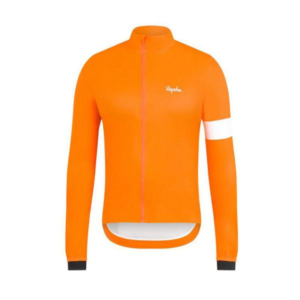 Yeni 2019 Rapha Takım Erkek Bisiklet Jersey Mtb Bisiklet gömlek Ropa Ciclismo Uzun Bisiklet Giyim Açık spor üniforma K092010 kollu