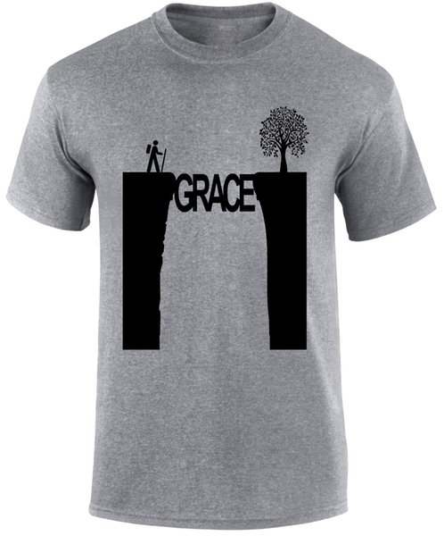 Grace in The Valley Christian Men T-shirt jersey Print t-shirt