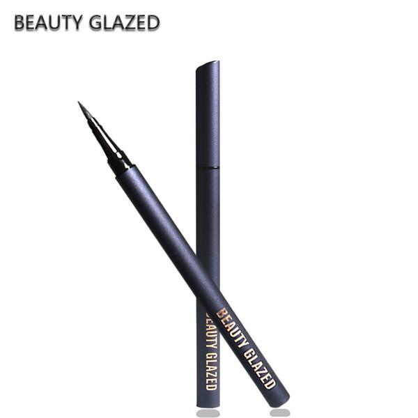 Make-up Liquid Eyeliner Extrem schwarze Farbe One-Shot-Molding Nicht färbende Kajal Pincil Flüssigkeit Pen Net 1g ePacked Versand