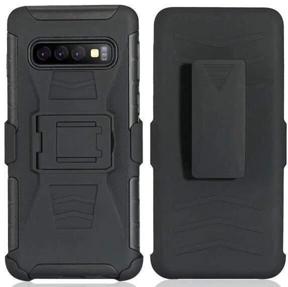 Clip Belt Stand Armor Hybrid Hard Case For Samsung Galaxy A8 A6 J3 J7 J4 J6 Plus J8 A7 A9 J2 Core 2018 Shockproof Swivel Camo Skin Cover