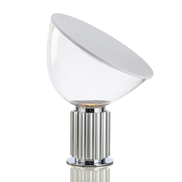 Nuova lampada da tavolo nera in alluminio bianco radar classico creativo vita semplice moda sala studio camera da letto lampada da lettura a LED E27