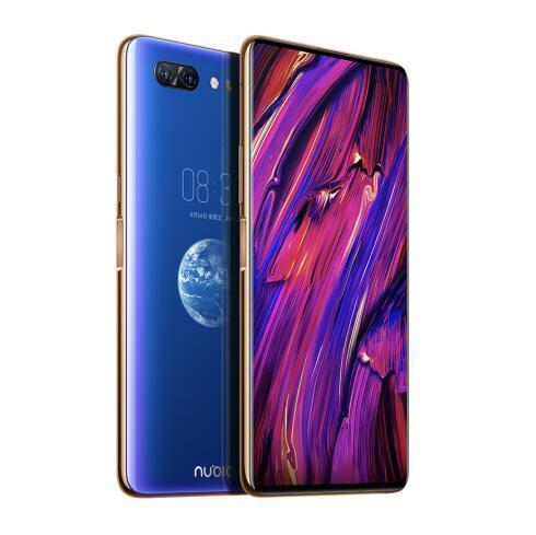 ZTE Nubia X Mobile Phone 8GB/128/256GB Snapdragon 845 Octa Core 6.26+5.1'' Dual Screen 16+24MP Camera 3800mAh Fingerprint Phone