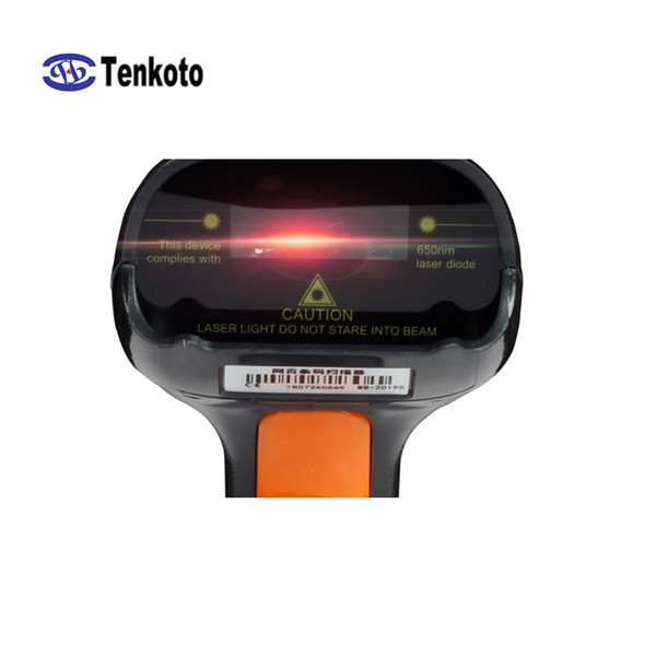 top popular Speed increase version 1D USB Jewelry label Laser Scan Terminal Product Tags 1D Laser Barcode Scanner 2019