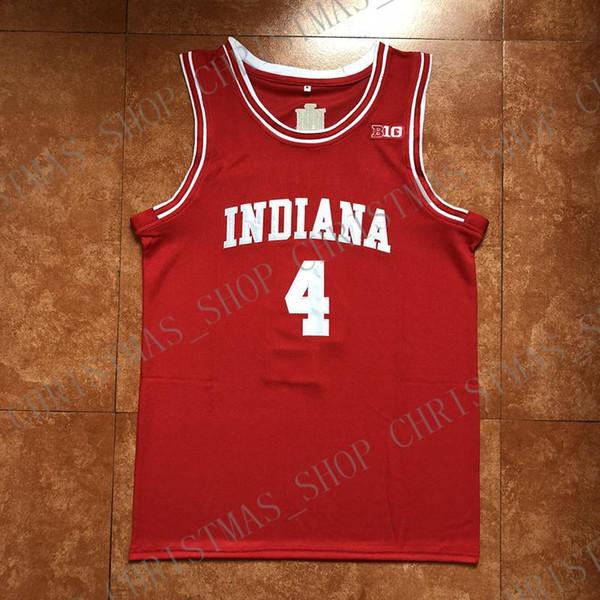 2019 Nuovo # 4 Victor Oladipo indiano College Basketball Jersey cucito su misura personalizzati nome qualsiasi numero XS-5XL
