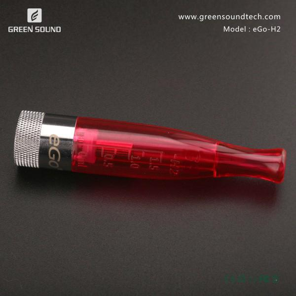 Hottest rebuildable atomizer GS H2 clearomizer with high quality and cheap price free shipping 1.8ohm