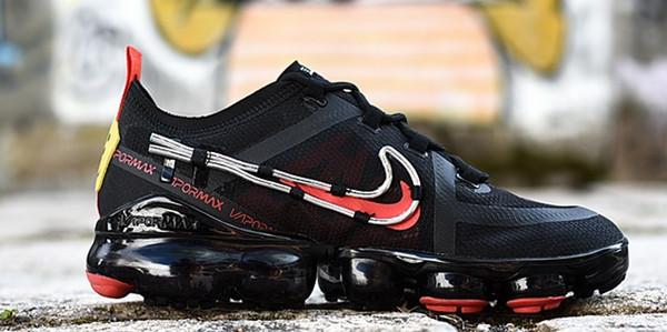 Nuove uscite 2019 CPFM Cactus scarpe progettista dell'impianto Flea Market Top Quality fronte di sorriso di marca nero mens allenatori sportivi scarpe da ginnastica Scarpe da corsa