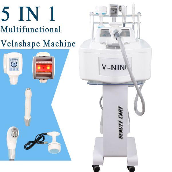 cavitation machine velashape body contouring slimming machine velashape vacuum roller rf cavitation weight loss velashape system