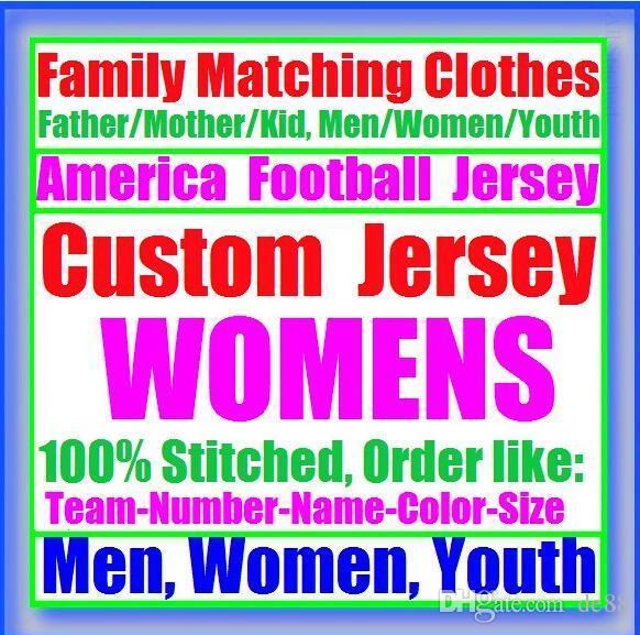 All Stitched Custom american football jerseys Carolina Chicago college authentic cheap baseball basketball mens womens youth USA 4xl shop