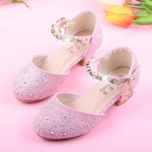 Kleinkinder Kinder Sommer Party Prinzessin Schuhe Niedrige Absätze Mädchen