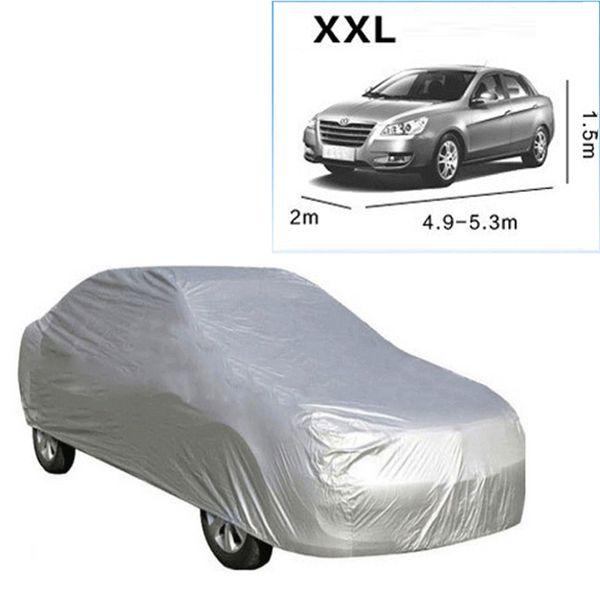 Universal Resistant Waterproof Outdoor Full Car Cover Aganist Anti UV Rain Snow