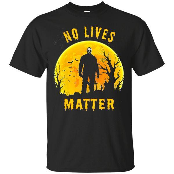 Keine Lebt Matter Michael Myers Halloween 2019 lustiges T-Shirt der schwarzen Männer-W ... Marken-Kleidung T-Shirt