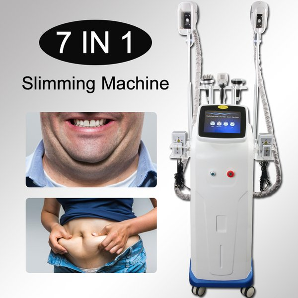 High quality cryolipolysis fat freeze slim machine cryotherapy double chin removal cavitation weight loss rf facial lift lipo laser slimming