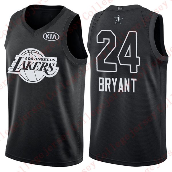 sale retailer 35884 420bf 2018 All Star Game Kobe Bryant Jersey Black White Mesn Stitched Basketball  Jerseys NCAA College UK 2019 From Hytopjersey, UK $&Price; | DHgate UK