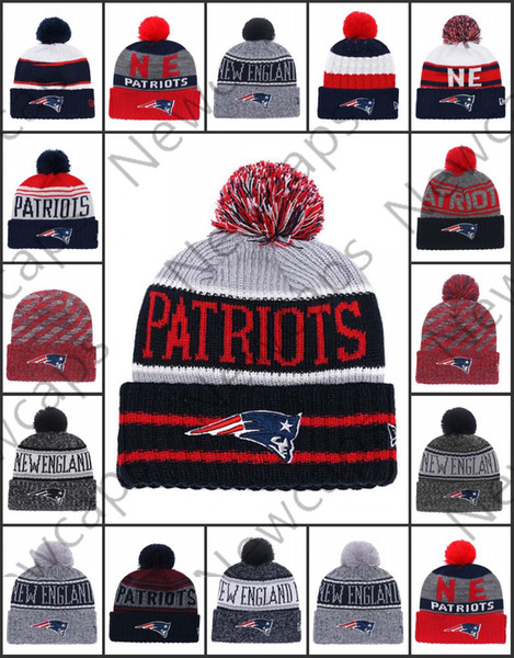 53bc18935dc1b New Wholesale England Sport Winter Hats Patriots Stitched Team Logo Brand  Warm Men Women Hot Sale Knitted Caps Cheap Mixed Beanies