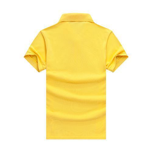 col rond Courir à séchage rapide des hommes de la mode à manches courtes revers à manches courtes T-shirt WO-68