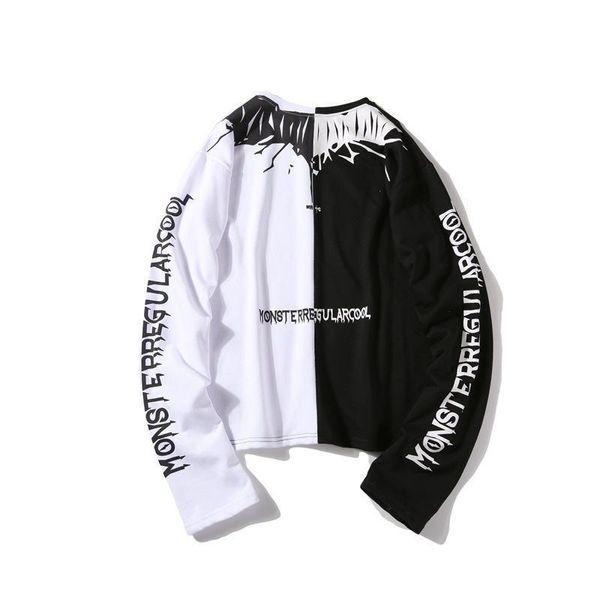 Nice Spring Hip Hop Hoodies Streetwear Hoodies Sweatshirt Casual Cotton