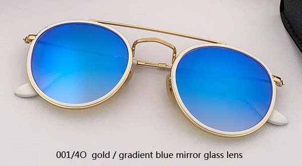 001/4O gold/gradient blue glash