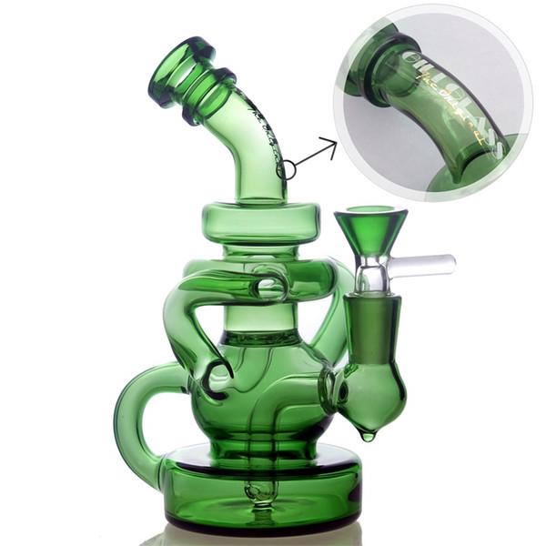 Gili-036 verde con la ciotola