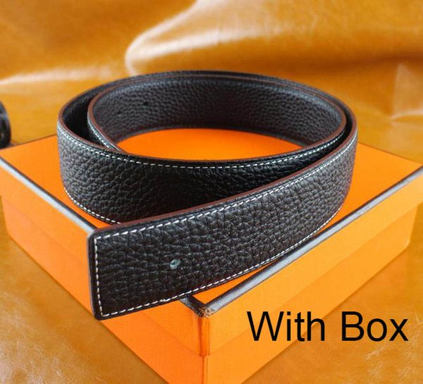 best selling Luxury Designer Of Mens And Women Belt With Fashion Big Buckle Real Leather H Top Designer High Quality Luxury Belts With Box