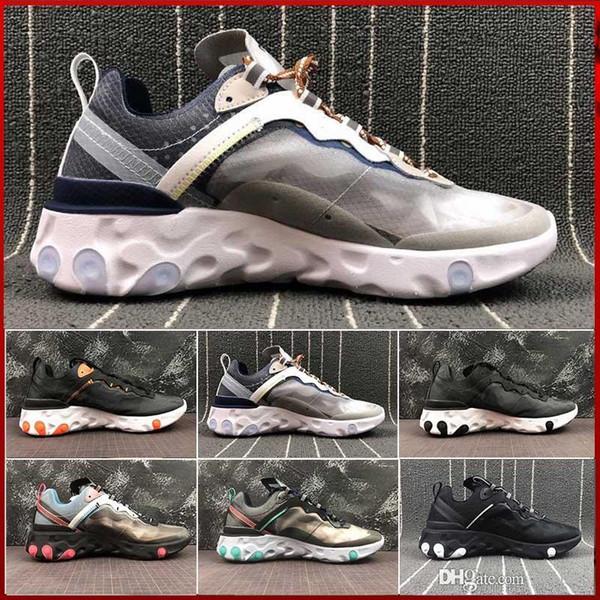 nike Air max Epic React Element 87 Réactif Élément Undercover Chaussures De Course Designer Sneakers Chaussures De Sport pour Hommes Femmes Multi Purpose Trainers Taille 36-45