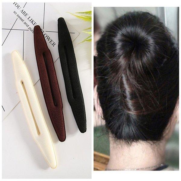 Großhandel Haarschmuck Für Frauen Haar Flechten Werkzeuge Magische Schwamm Flechter Hairdisk Donut Schnell Messy Bun Hochsteckfrisur Headwear Styling