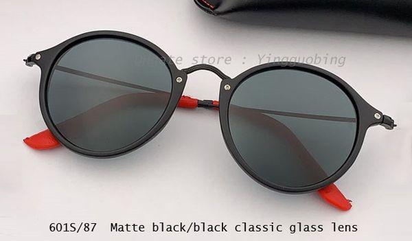 matte black/black lens