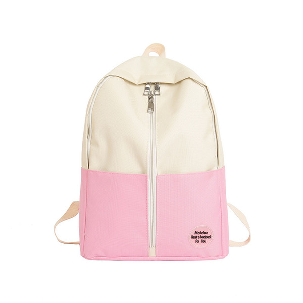 Exotic2019 Woman Bag A Original Su Chu High Middle School Student Backpack Joker Concise Vertical Zipper Will Capacity Both Shoulders