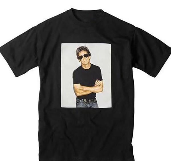 18SS Box Logo 09ss Lou Reed Photo Tee Men Women Casual Designer Street Skateboard Short Sleeves T-shirt HFTTTX021