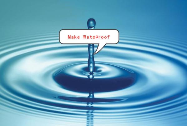Wasserdicht machen